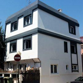 Reabilitação de Moradia – Isolamento Térmico pelo Exterior – Etics/Capoto